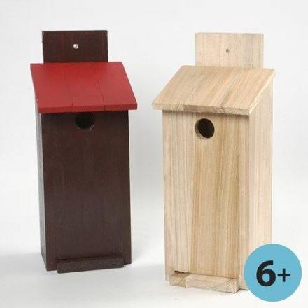 Costruisci la tua casetta per gli uccellini