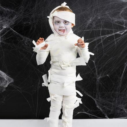 Un costume da mummia di Halloween