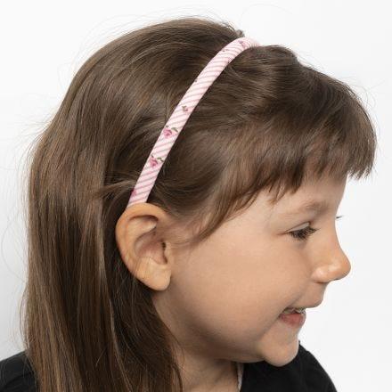 Fascia per capelli decorata con stoffa patchwork