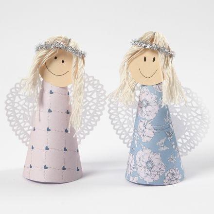 Angeli con corpo conico
