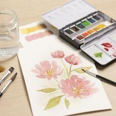 Acquerelli per principianti: impara a dipingere con gli acquerelli