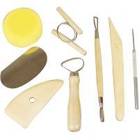 Kit per ceramica, 8 pz/ 1 conf.