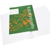 Quaderno con spazio immagine, A4, misura 21x29,7 cm, 32 , 25 pz/ 1 conf.