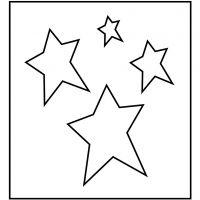 Fustella in acciaio, stella, misura 14x15,25 cm, spess. 15 mm, 1 pz