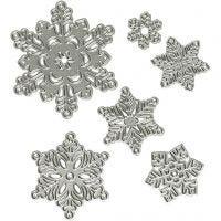 Fustella, fiocco di neve, diam: 2-6 cm, 1 pz
