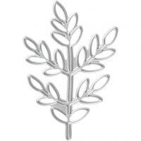 Fustella, ramoscelli, misura 4,4x6,5 cm, 1 pz