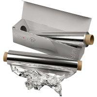 Carta alluminio, L: 30 cm, 150 m/ 1 rot.