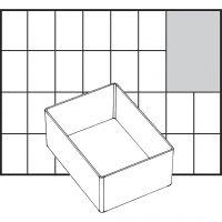 Scatola inserto, dim. A7-1, H: 47 mm, misura 109x79 mm, 1 pz