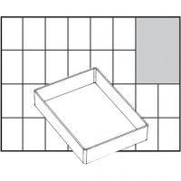 Scatola inserto, dim. A71 Low, H: 24 mm, misura 109x79 mm, 1 pz