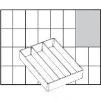 Scatola inserto, dim. A73 Low, H: 24 mm, misura 109x79 mm, 1 pz