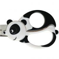 Forbici animali per bambini, panda, L: 13 cm, 1 pz