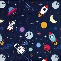 Confezione regalo, Astronauti nello spazio, L: 57 cm, 80 g, 150 m/ 1 rot.