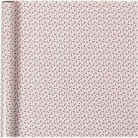 Confezione regalo, tromba, L: 70 cm, 80 g, rosso, bianco, 4 m/ 1 rot.
