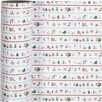 Confezione regalo, Natale polare, L: 57 cm, 80 g, 150 m/ 1 rot.