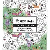 Libro da colorare Mindfullness, The Forest Path, misura 19,5x23 cm, 64 , 1 pz