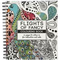 Libro da colorare Mindfullness, Flights of Fancy, misura 19,5x23 cm, 64 , 1 pz