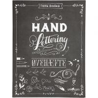 Hand Lettering - esercizi, misura 21x28 cm, spess. 1 cm, 63 , 1 pz