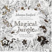 Libro da colorare Mindfullness, Magical Jungle, misura 25x25 cm, 80 , 1 pz