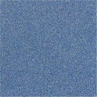 Pellicola glitter, L: 35 cm, spess. 110 my, blu, 2 m/ 1 rot.