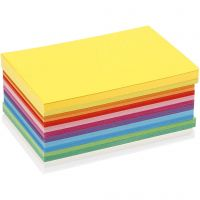 Cartoncino primavera, A6, 105x148 mm, 180 g, colori asst., 120 fgl. asst./ 1 conf.