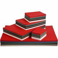 Cartoncino Natale, A2,A3,A4,A5,A6, 180 g, colori asst., 1800 fgl. asst./ 1 conf.