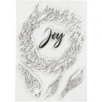 Motivi in silicone, joy, misura 10,5x15 cm, 1 fgl.