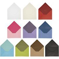 Busta, dim. busta 11,5x16 cm, il contenuto può variare , 100 g, colori asst., 30 conf./ 1 conf.