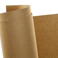 Cartoncino corrugato, 50x70 cm, 120 g, 10 fgl./ 1 conf.
