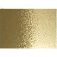 Cartoncino metallizzato, A4, 210x297 mm, 280 g, oro, 10 fgl./ 1 conf.