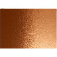 Cartoncino metallizzato, A4, 210x297 mm, 280 g, rame, 10 fgl./ 1 conf.