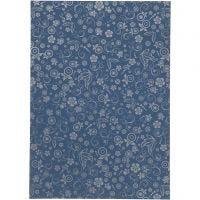Carta, A4, 210x297 mm, 80 g, blu, 20 fgl./ 1 conf.