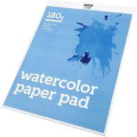 Blocco di carta per acquerelli, A3, 297x420 mm, 180 g, bianco, 20 fgl./ 1 pz