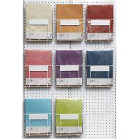 Carta pergamena, A4, 210x297 mm, 100 g, colori asst., 8x10 conf./ 1 conf.