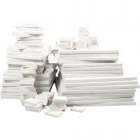Tele da pittore, P 2 cm, bianco, 300 pz/ 1 conf.