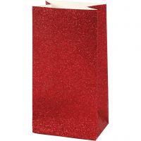Buste carta, H: 17 cm, misura 6x9 cm, 200 g, rosso, 8 pz/ 1 conf.