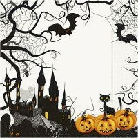 Tovaglioli da tavolo, Halloween, misura 33x33 cm, 20 pz/ 1 conf.