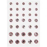 Brillantini, cono rotondo, misura 6+8+10 mm, rosato, 35 pz/ 1 conf.