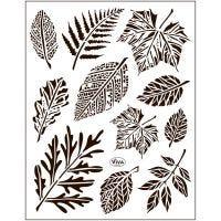 Motivi in silicone, foglie, 14x18 cm, 1 fgl.