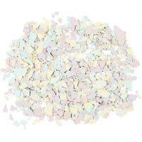 Scaglie marmorizzate, colori pastello, 90 g/ 1 vasch.