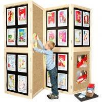 Kit display a muro, H: 192 cm, L: 288 cm, 1 set