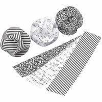 Decorazioni click, diam: 5 cm, misura 3,5x8,8 cm, 9 set/ 1 conf.