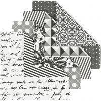 Carta origami, misura 10x10 cm, 80 g, 50 fgl. asst./ 1 conf.