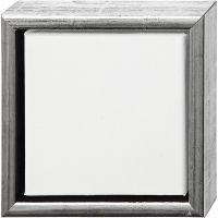 Tela ArtistLine con cornice, P 3 cm, misura 19x19 cm, bianco, 6 pz/ 1 conf.