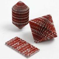 Book origami, misura 4,5x9 cm, 80 g, 6 pz/ 1 conf.