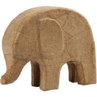 Elefante, H: 14 cm, L: 17 cm, 1 pz
