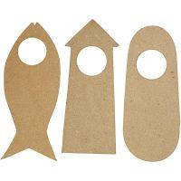 Cartello da maniglia, misura 10x25 cm, 6 pz/ 1 conf.