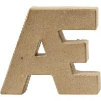 Lettera, Æ, H: 10 cm, spess. 2 cm, 1 pz
