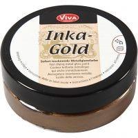 Inka Gold, brown gold, 50 ml/ 1 vasch.