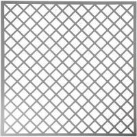 Stencil, quadrati, misura 30,5x30,5 cm, spess. 0,31 mm, 1 fgl.