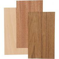 Impliallacciatura di bamboo, 12x22 cm, spess. 0,75 mm, 3 fgl./ 1 conf.